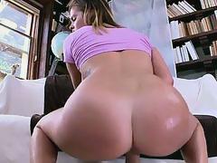 Sexy Keisha Grey teases then gets fucked