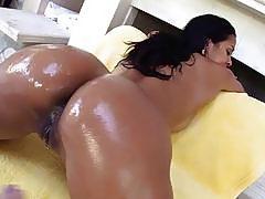 Big oiled ass Abby Lee Brazil