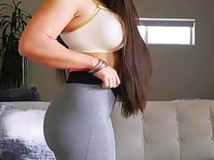 Big ass and huge boobs latina babe perfect Marta La Croft