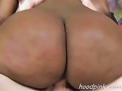 Very hardcore and rough interracial sex