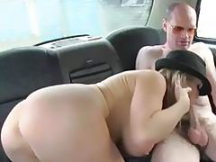 FEMALE FAKE TAXI - MAN SUBMITTED BY BLONDE PERFECT WOMEN